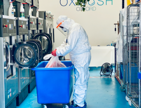 How the UK startup Oxwash is on a mission to make the way we clean our clothes greener